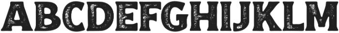 Croust Serif-Texture otf (400) Font LOWERCASE