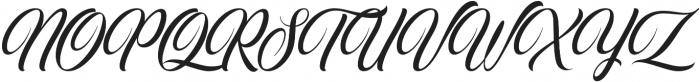 Crowlen Script otf (400) Font UPPERCASE
