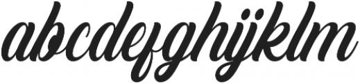 Crowlen Script otf (400) Font LOWERCASE