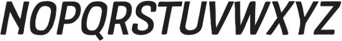 Crude Bold Slanted otf (700) Font UPPERCASE