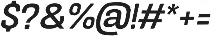 Crude Bold Wide Slanted otf (700) Font OTHER CHARS