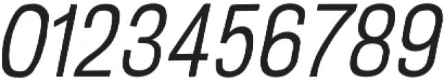 Crude Light Slanted Compressed otf (300) Font OTHER CHARS