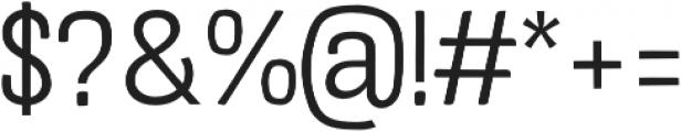 Crude Light otf (300) Font OTHER CHARS
