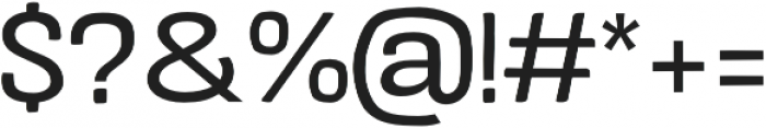 Crude Regular Expanded otf (400) Font OTHER CHARS