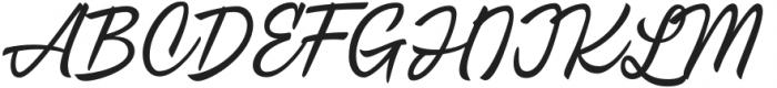 CrushTease-Regular otf (400) Font UPPERCASE
