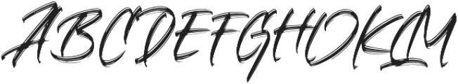 Crushed otf (400) Font UPPERCASE