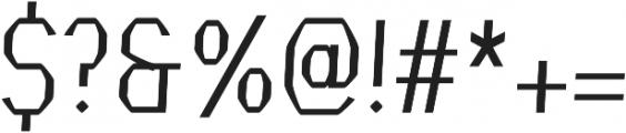 Crypto regular otf (400) Font OTHER CHARS