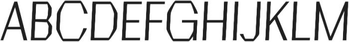 Crypto regular otf (400) Font UPPERCASE