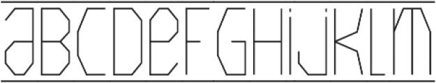 Crystals ttf (400) Font UPPERCASE