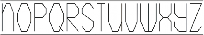 Crystals ttf (400) Font LOWERCASE