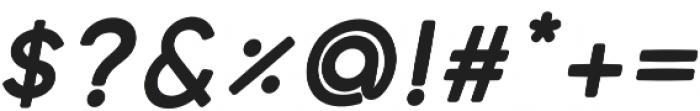 cream Semibold italic otf (600) Font OTHER CHARS