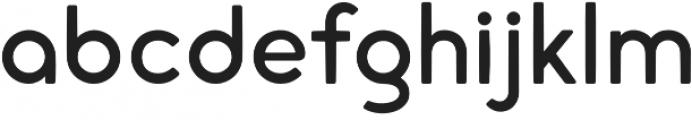 cream otf (400) Font LOWERCASE
