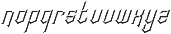 crypton stone ins otf (400) Font LOWERCASE
