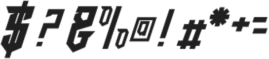 crypton stone otf (400) Font OTHER CHARS