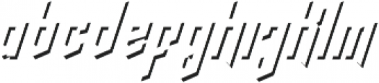 crypton stone shadow otf (400) Font LOWERCASE