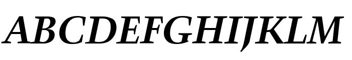 Crystal Bold Italic Font UPPERCASE