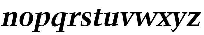 Crystal Bold Italic Font LOWERCASE