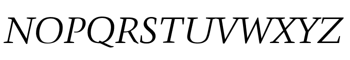 Crystal Italic Font UPPERCASE