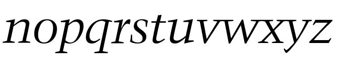 Crystal Italic Font LOWERCASE