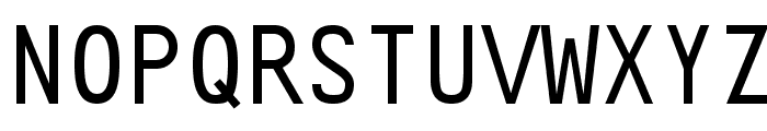 Crystal Font UPPERCASE