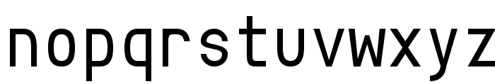 Crystal Font LOWERCASE