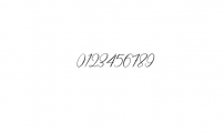 Creative Signature Font preview Font OTHER CHARS