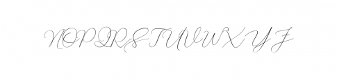 Creative Signature Font preview Font UPPERCASE