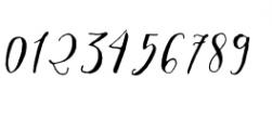 Crafty Script Alt 1 Font OTHER CHARS