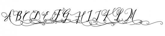 Crafty Script Alt 1 Font UPPERCASE
