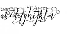 Crafty Script Alt 1 Font LOWERCASE