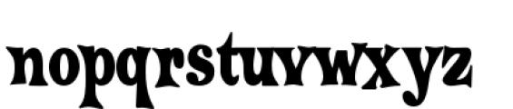 Crazy Harold Condensed Alt Font LOWERCASE
