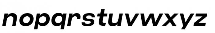 Criteria CF Demi Bold Oblique Font LOWERCASE