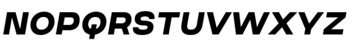 Criteria CF Extra Bold Oblique Font UPPERCASE