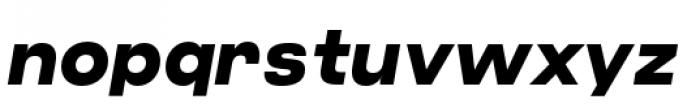 Criteria CF Extra Bold Oblique Font LOWERCASE