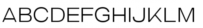 Criteria CF Extra Light Font UPPERCASE