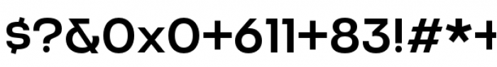 Criteria CF Medium Font OTHER CHARS
