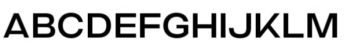 Criteria CF Medium Font UPPERCASE