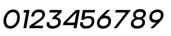 Criteria CF Regular Oblique Font OTHER CHARS