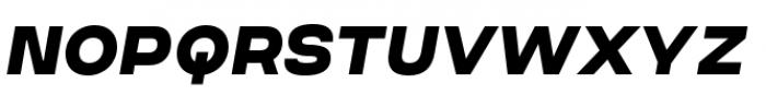 Criteria CF Super Oblique Font UPPERCASE