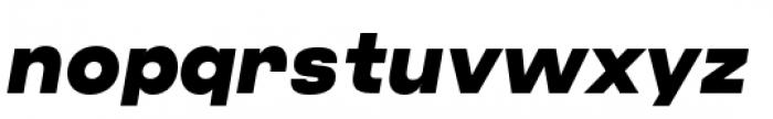 Criteria CF Super Oblique Font LOWERCASE
