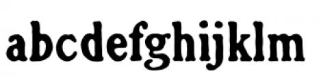 Croft Regular Font LOWERCASE