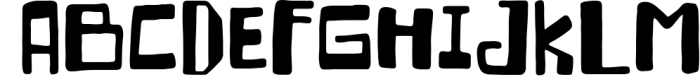 Crackalackin Font Set 1 Font UPPERCASE