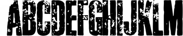 Crepello Font UPPERCASE