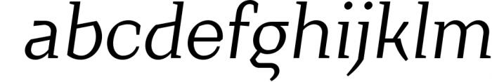 Crimsons � Regular & Italic Font LOWERCASE