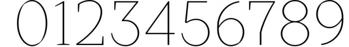 Crimsons � Thin & Thin Italic 1 Font OTHER CHARS