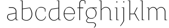 Crimsons � Thin & Thin Italic 1 Font LOWERCASE