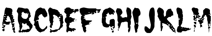 CRAMPS Font UPPERCASE