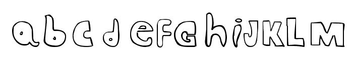 CRAZY RAS Font LOWERCASE