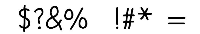 CROSS STITCH Font OTHER CHARS