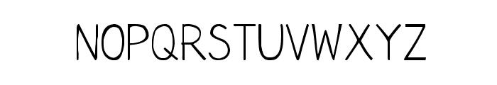 CRU-Chaipot-Hand-Written Font UPPERCASE